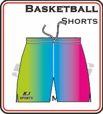 Custom Made Basketball Shorts