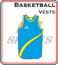 Custom Made Basketball Vests