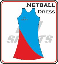 Custom Made Netball Dress