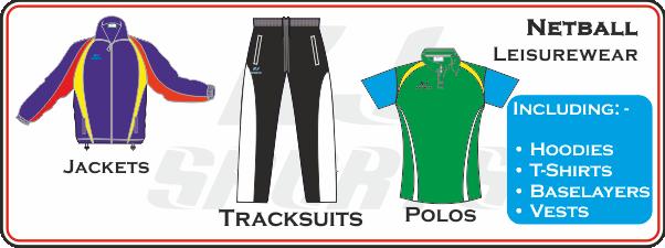 Custom Made Netball Leisurewear