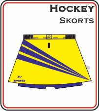Custom Made Hockey Skorts